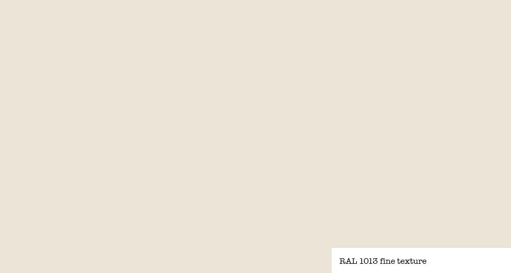 Couleur ivoire RAL 1013